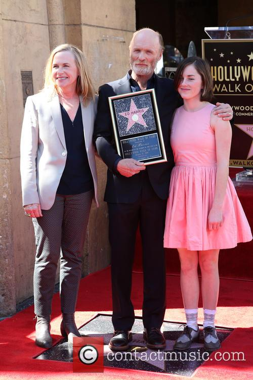 Ed Harris honored on the Hollywood Walk of...