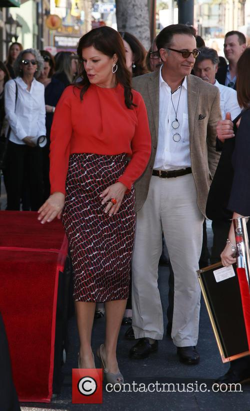 Marcia Gay Harden and Andy Garcia 11