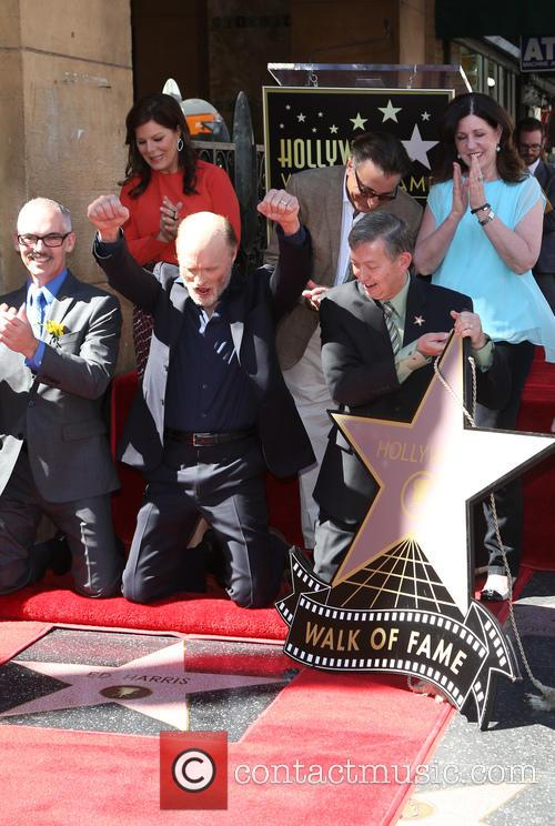 Mitch O'farrell, Marcia Gay Harden, Andy Garcia, Ed Harris and Leron Gubler 6