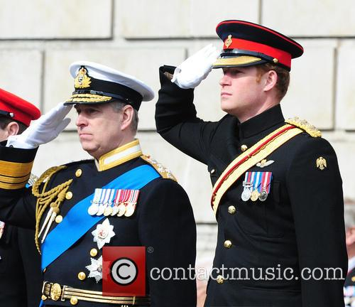 Prince Harry and Prince Andrew 9