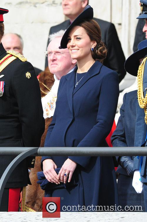 Royals at the Remeberance ceremony at St Pauls