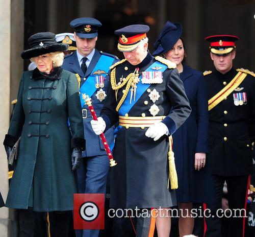Prince Charles, Camilla, Duchess Of Cornwall, Prince William Duke Of Cambridge and Catherine Duchess Of Cambridge 1