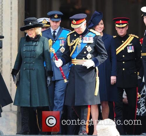 Prince Charles, Camilla, Duchess Of Cornwall, Prince William Duke Of Cambridge and Catherine Duchess Of Cambridge 2