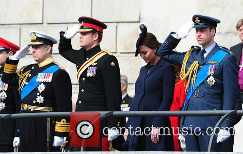 Prince Harry, Prince William Duke Of Cambridge and Catherine Duchess Of Cambridge 2