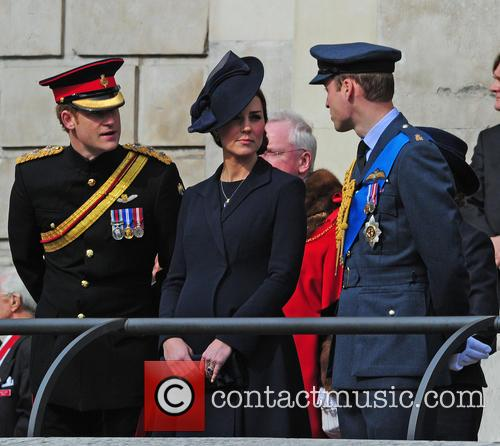 Prince Harry, Prince William Duke Of Cambridge and Catherine Duchess Of Cambridge 3