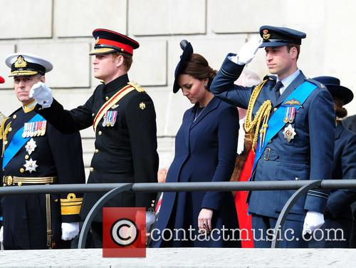 Prince Harry, Prince William Duke Of Cambridge and Catherine Duchess Of Cambridge 4