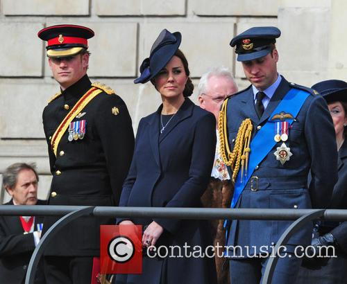 Prince Harry, Prince William Duke Of Cambridge and Catherine Duchess Of Cambridge 6