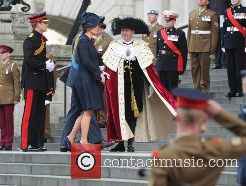Prince William, Catherine Duchess Of Cambridge and Prince Harry 4