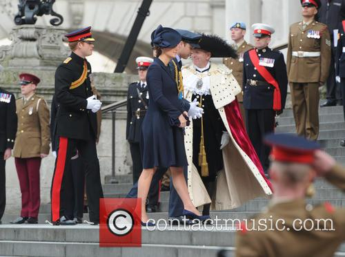 Prince William, Catherine Duchess Of Cambridge and Prince Harry 5