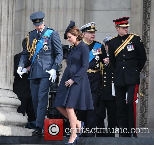 Prince William, Duke Of Cambridge, Catherine, Duchess Of Cambridge, Prince Harry, Prince Andrew and Duke Of York 9