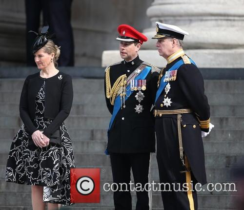 Sophie, Countess Of Wessex, Prince Andrew, Duke Of York, Prince Edward and Earl Of Wessex 1