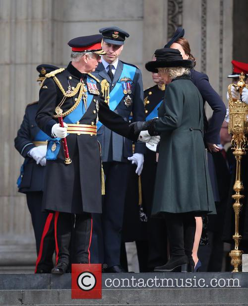 Prince Charles, Camilla, Duchess Of Cornwall, Prince William Duke Of Cambridge and Catherine Duchess Of Cambridge 3