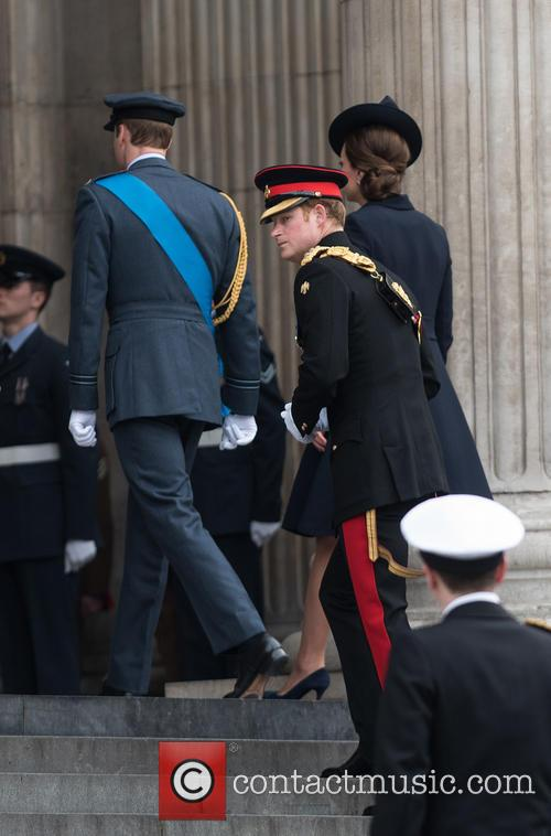 William, Duke Of Cambridge, Prince Harry and Duchess Of Cambridge 4