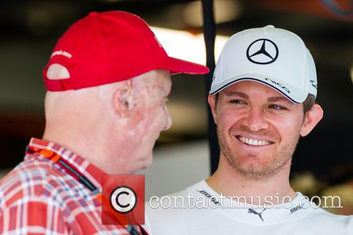 Nico Rosberg and Niki Lauda 6