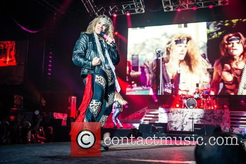 Steel Panther, Ralph Saenz and Michael Starr 6