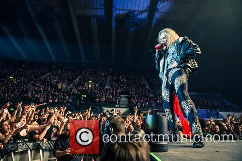 Steel Panther, Ralph Saenz and Michael Starr 7