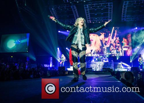 Steel Panther, Ralph Saenz and Michael Starr 9