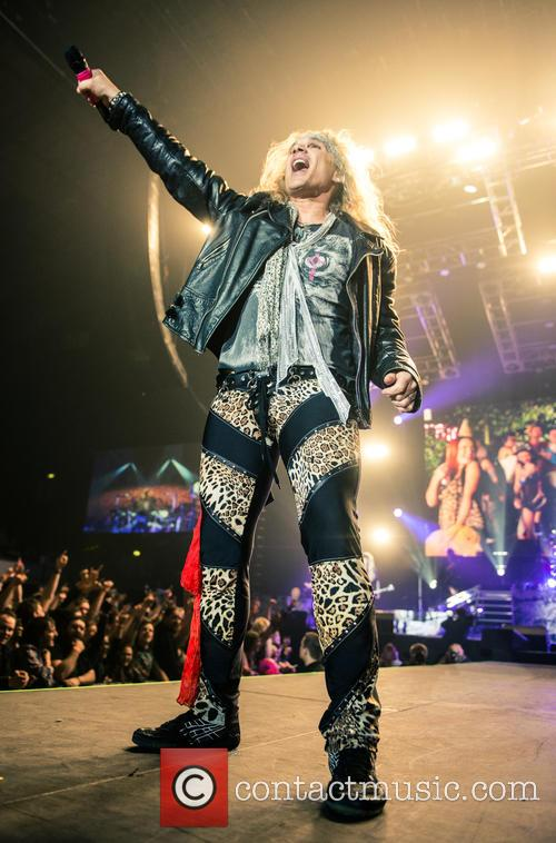Steel Panther, Ralph Saenz and Michael Starr 1