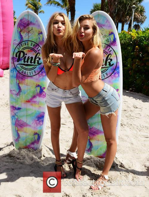 Gigi Hadid and Rachel Hilbert 1