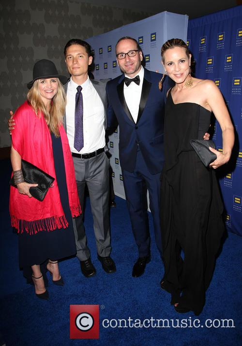 Maria Bello, Elijah Allan-blitz, Chad Griffin and Clare Munn 2
