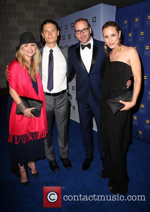 Maria Bello, Elijah Allan-blitz, Chad Griffin and Clare Munn 3