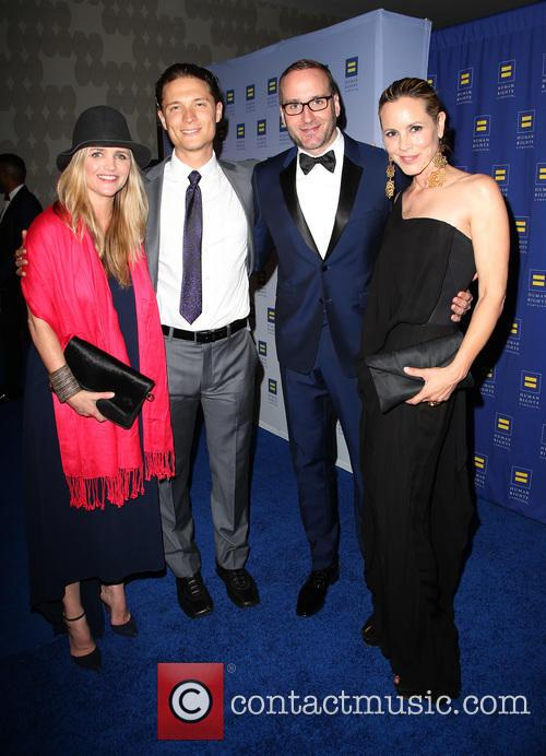 Clare Munn, Elijah Allan-blitz, Chad Griffin and Maria Bello 1
