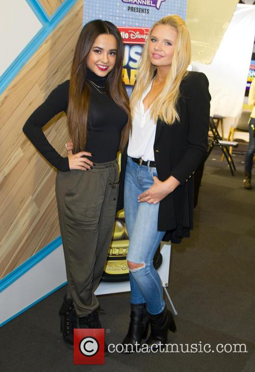 Becky G and Alli Simpson 9