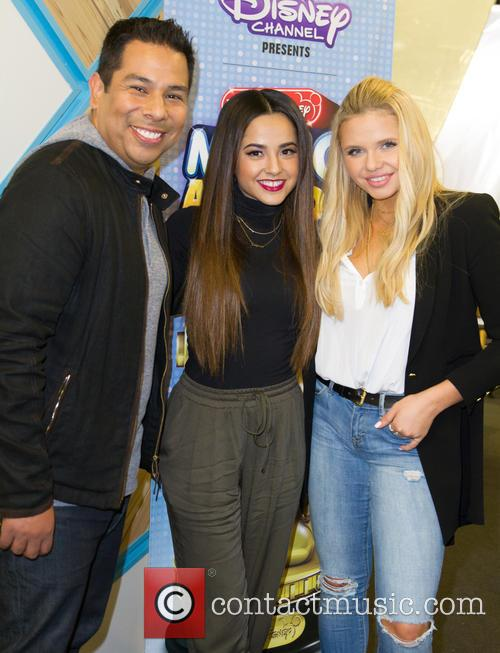 Ernie D, Becky G and Alli Simpson 2