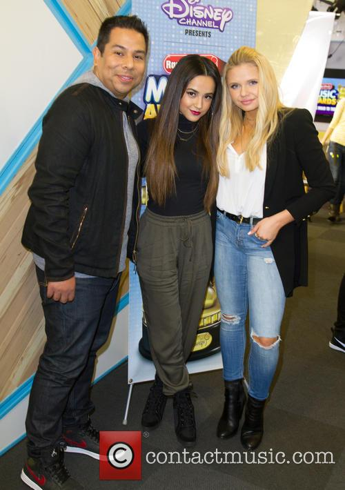 Ernie D, Becky G and Alli Simpson 1