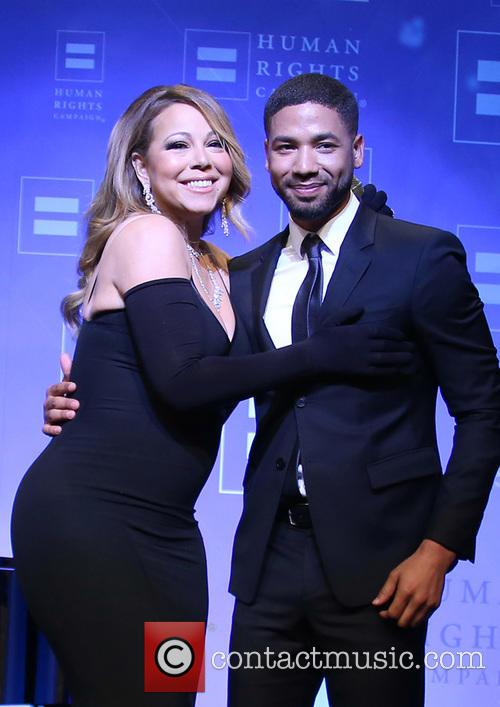 Jussie Smollett and Mariah Carey 10