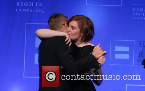 Michael Lombardo and Lena Dunham 2
