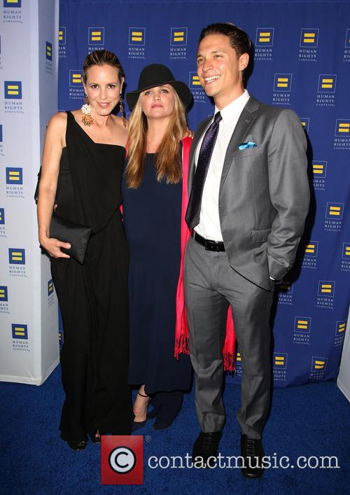 Maria Bello, Clare Munn and Guest 8