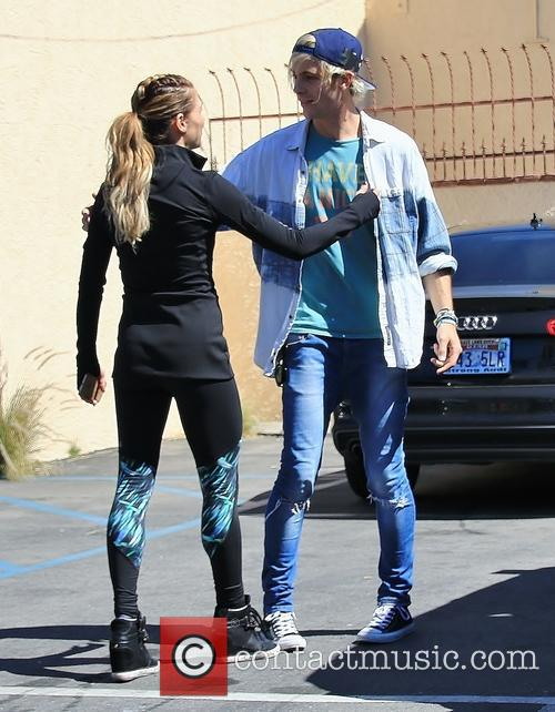 Riker Lynch and Allison Holker 1
