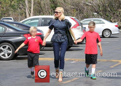 Gwen Stefani, Zuma Rossdale and Kingston Rossdale 7