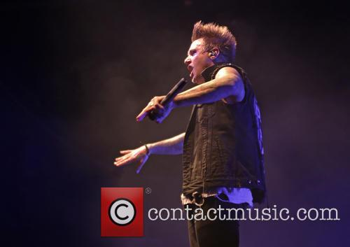 Papa Roach and Jacoby Shaddix 2