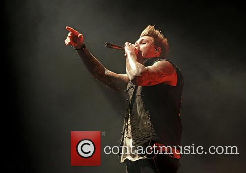 Papa Roach and Jacoby Shaddix 11