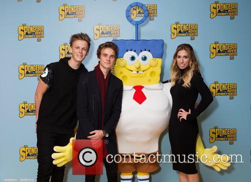 Caspar Lee, Joe Sugg, Spongebob and Stacey Solomon 3