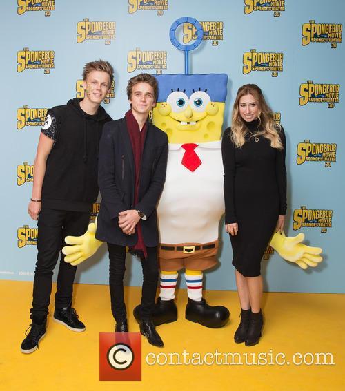 Caspar Lee, Joe Sugg, Spongebob and Stacey Solomon 4