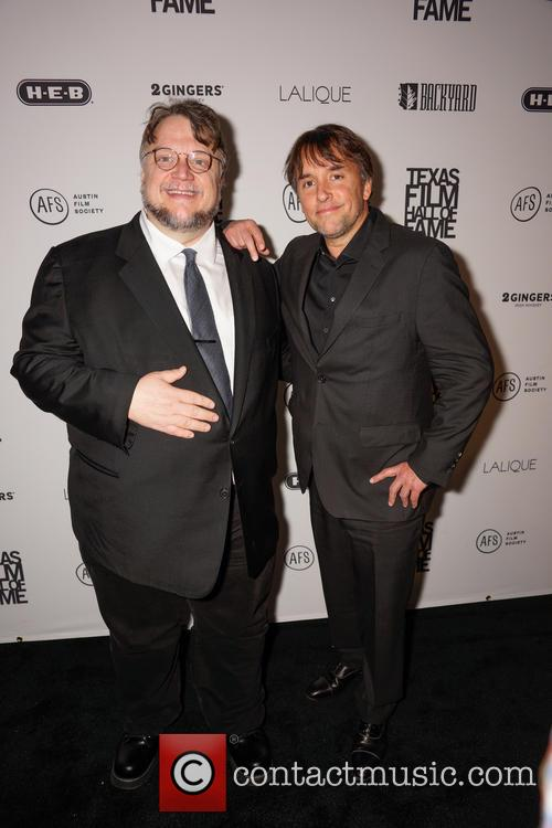 Guillermo Del Toro and Richard Linklater 4