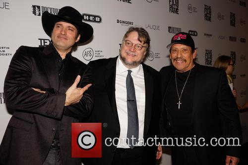 Robert Rodriguez, Guillermo Del Toro and Danny Trejo 6