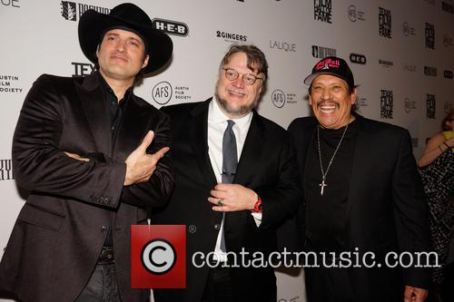 Robert Rodriguez, Guillermo Del Toro and Danny Trejo 7