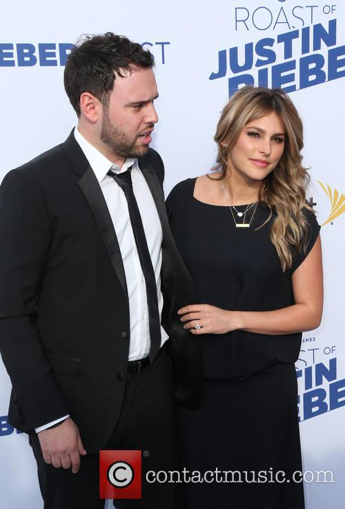 Scooter Braun and Yael Cohen 2