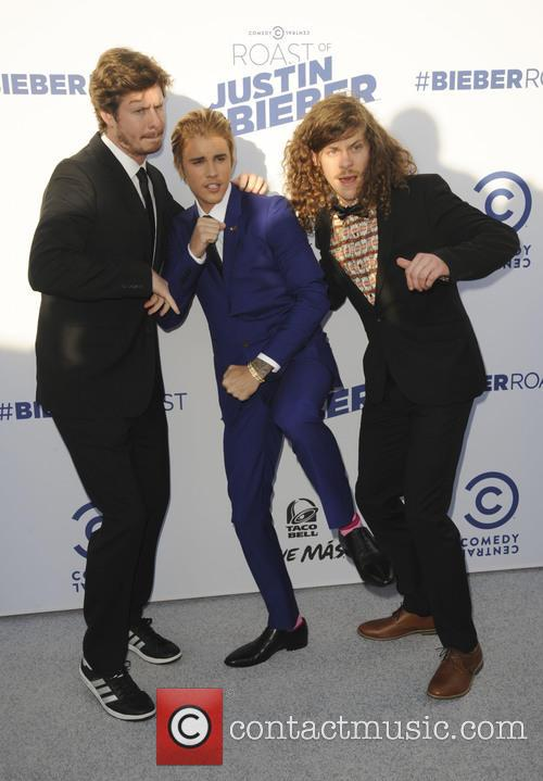 Anders Horm, Justin Bieber and Blake Anderson 2
