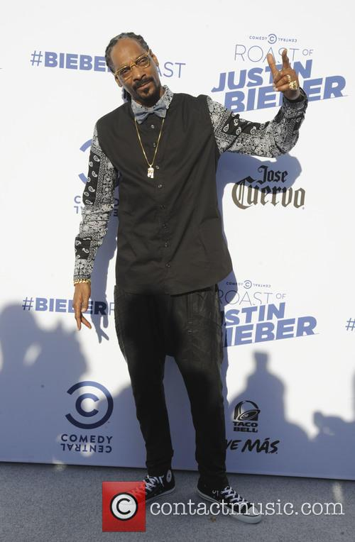 Snoop Dogg at Comedy Roast of Justin Bieber