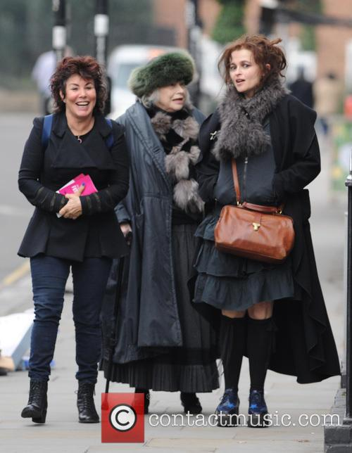 Helena Bonham Carter and Ruby Wax
