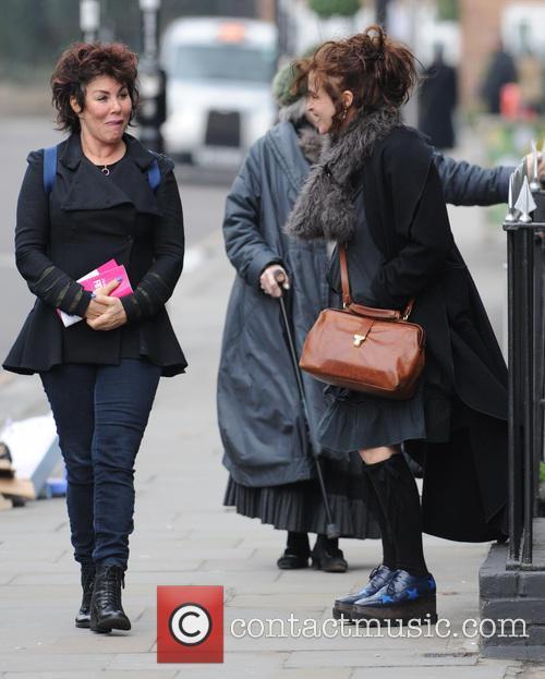 Helena Bonham Carter and Ruby Wax 4
