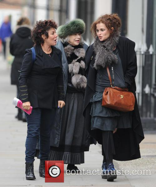 Helena Bonham Carter and Ruby Wax 9