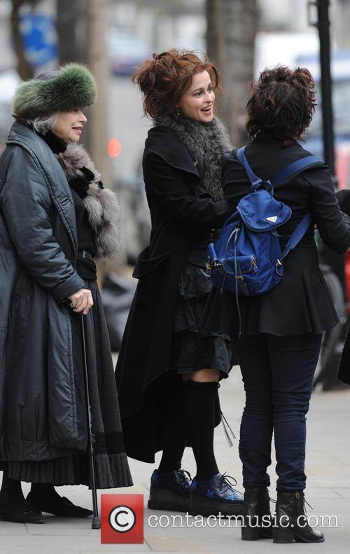 Helena Bonham Carter and Ruby Wax 1