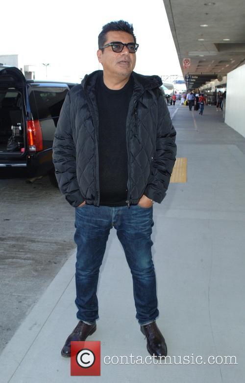 Mario Lopez at Los Angeles International Airport (LAX)