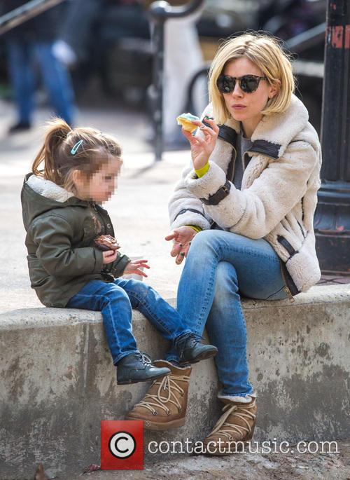 Sienna Miller and Marlowe Sturridge 9